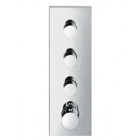 Axor ShowerCollection Moduł z termostatem podtynkowy element zewnętrzny DN20, chrom 10751000