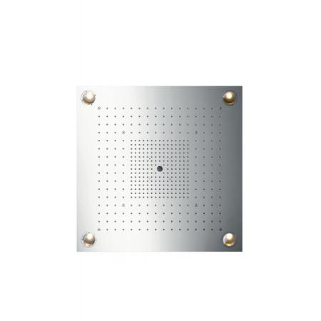 Axor ShowerCollection ShowerHeaven Deszczownica sufitowa 72x72 cm z oświetleniem, stal szlachetna 10627800