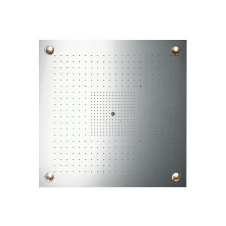 Axor ShowerCollection ShowerHeaven Deszczownica sufitowa 97x97 cm z oświetleniem, stal szlachetna 10623800