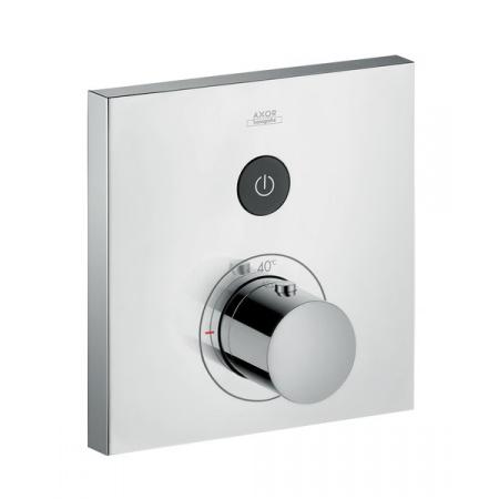 Axor ShowerSelect Square Bateria wannowo-prysznicowa podtynkowa z termostatem chrom 36714000