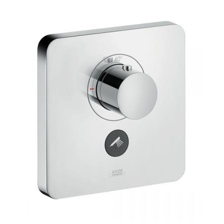 Axor ShowerSelect Soft Cube Bateria wannowo-prysznicowa podtynkowa termostatyczna chrom 36706000