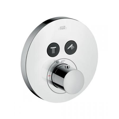 Axor ShowerSelect Round Bateria wannowo-prysznicowa podtynkowa termostatyczna chrom 36723000