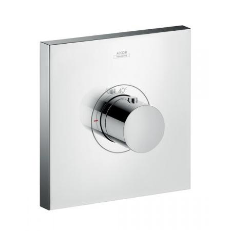 Axor ShowerSelect Square Jednouchwytowa bateria termostatyczna HighFlow podtynkowa, chrom 36718000