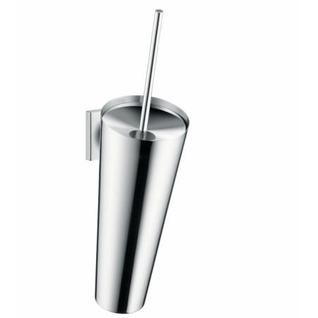 Axor Starck Organic Pojemnik wiszący ze szczotką WC, chrom 42735000