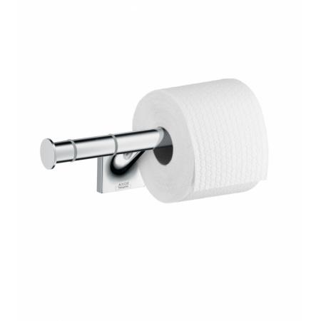 Axor Starck Organic Uchwyt na papier toaletowy na 2 rolki, chrom 42736000