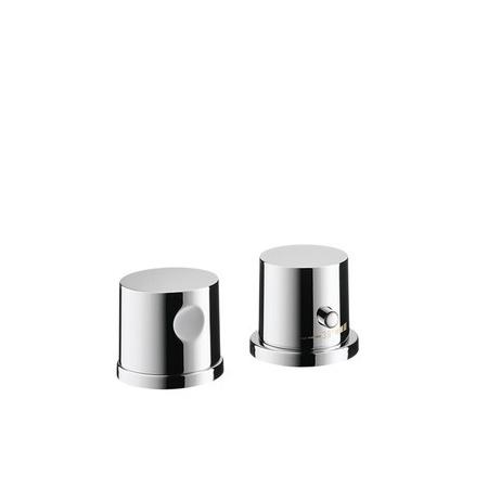 Axor Uno2 Element zewnętrzny do baterii nawannowej termostatycznej 2-otworowej, chrom 38480000
