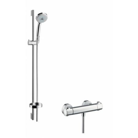 Hansgrohe Croma 100 Multi/Ecostat 1001 SL Zestaw prysznicowy 90 cm chrom 27085000
