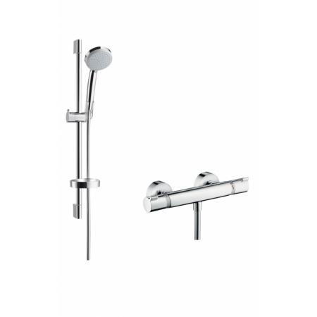 Hansgrohe Croma 100 Vario/Ecostat Comfort Zestaw prysznicowy 65 cm chrom 27034000