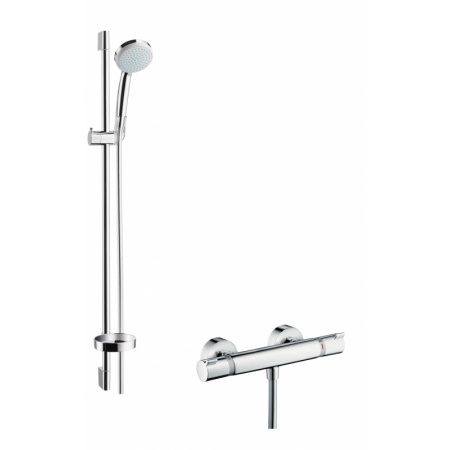 Hansgrohe Croma 100 Vario/Ecostat Comfort Zestaw prysznicowy 90 cm chrom 27035000