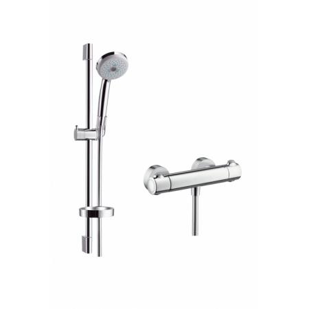 Hansgrohe Croma 100 Multi/Ecostat 1001 SL Zestaw prysznicowy 65 cm chrom 27086000