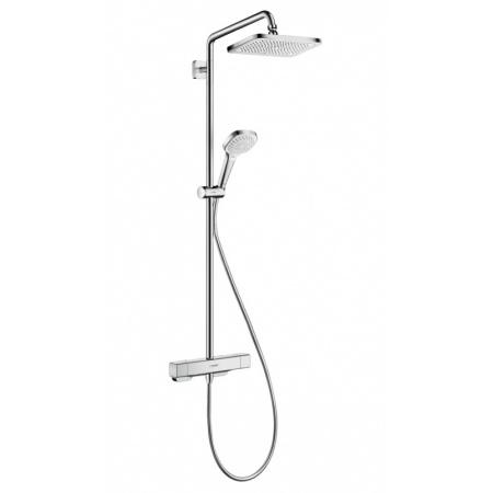 Hansgrohe Croma E 280 1jet Zestaw prysznicowy termostatyczny z deszczownicą, chrom 27630000