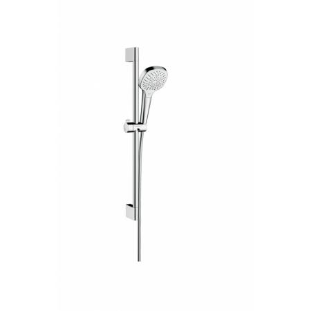 Hansgrohe Croma Select E Zestaw prysznicowy 65 cm chrom/biały 26580400
