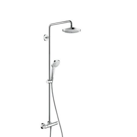 Hansgrohe Croma Select E 180 Zestaw prysznicowy biały/chrom 27256400