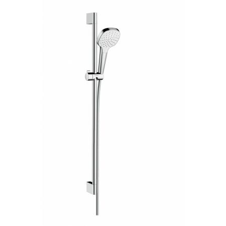 Hansgrohe Croma Select E Zestaw prysznicowy 90 cm chrom/biały 26594400