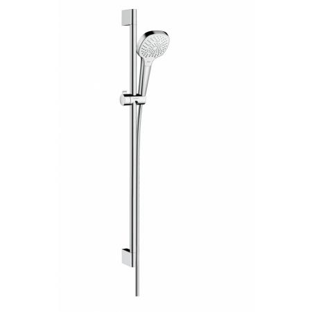 Hansgrohe Croma Select E Zestaw prysznicowy 90 cm EcoSmart chrom/biały 26591400