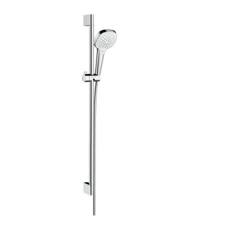 Hansgrohe Croma Select E Vario Zestaw prysznicowy 90 cm EcoSmart chrom/biały 26593400