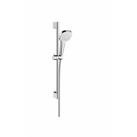 Hansgrohe Croma Select E Vario Zestaw prysznicowy 65 cm EcoSmart chrom/biały 26583400