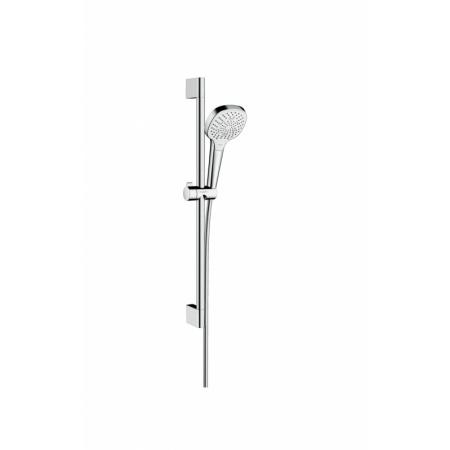 Hansgrohe Croma Select E Zestaw prysznicowy 65 cm EcoSmart chrom/biały 26581400