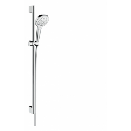 Hansgrohe Croma Select E Zestaw prysznicowy 90 cm chrom/biały 26590400