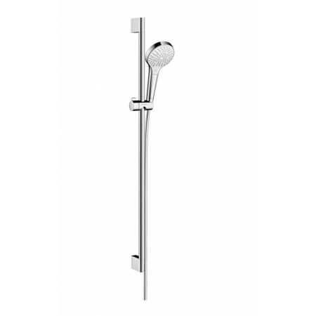 Hansgrohe Croma Select S Multi Zestaw prysznicowy 90 cm EcoSmart chrom/biały 26571400