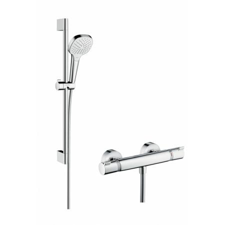 Hansgrohe Croma Select E Vario Zestaw prysznicowy 65 cm chrom/biały 27081400