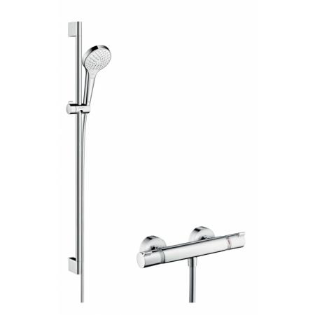 Hansgrohe Croma Select S Vario Zestaw prysznicowy 90 cm, chrom/biały 27014400
