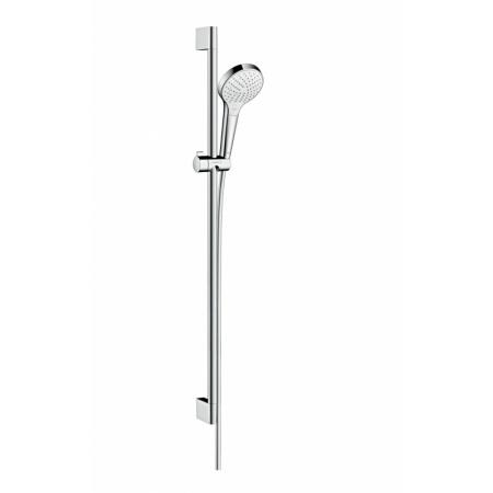 Hansgrohe Croma Select S Vario Zestaw prysznicowy 90 cm EcoSmart chrom/biały 26573400