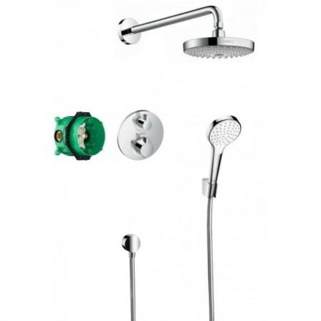 Hansgrohe Croma Select S Zestaw prysznicowy podtynkowy, chrom 27295000