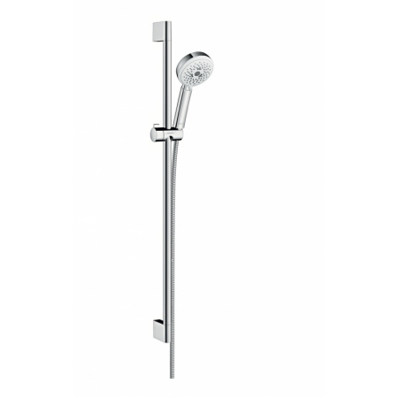 Hansgrohe Crometta 100 Multi Zestaw prysznicowy 90 cm EcoSmart, chrom/biały 26659400