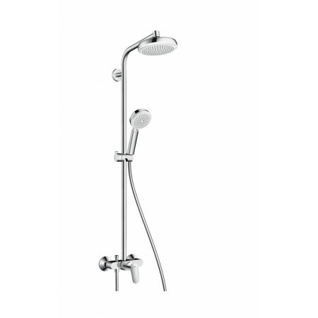 Hansgrohe Crometta 160 Zestaw prysznicowy, chrom/biały 27266400