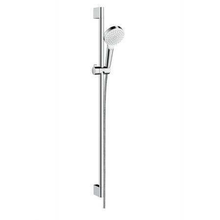 Hansgrohe Crometta 1jet Unica Zestaw prysznicowy 90 cm, biały/chrom 26537400