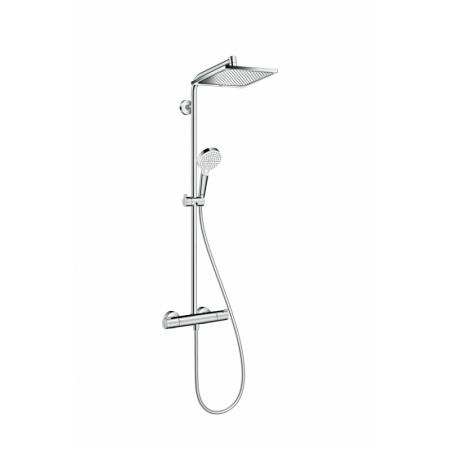 Hansgrohe Crometta E 240 1jet Zestaw prysznicowy EcoSmart, chrom 27281000
