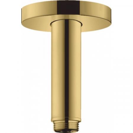 Hansgrohe Crometta S Przyłącze sufitowe DN15 10 cm, polerowany złoty optyczny 27393990