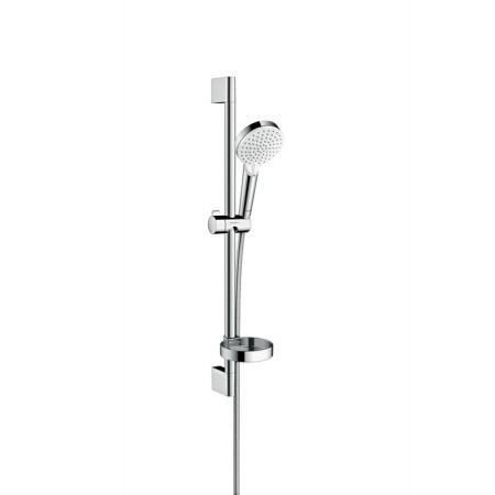 Hansgrohe Crometta Vario Unica Zestaw prysznicowy 65 cm z mydelniczką biały/chrom 26553400