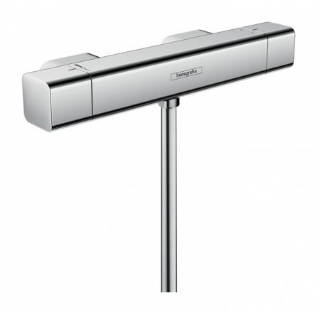 Hansgrohe Ecostat E Bateria prysznicowa z termostatem natynkowa chrom 15773000