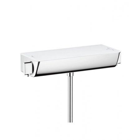 Hansgrohe Ecostat Select Bateria termostatyczna prysznicowa natynkowa do modernizacji DN15, biała/chrom 13111400