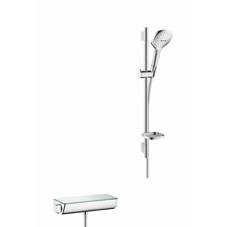 Hansgrohe Ecostat Select E 120 Combi Zestaw prysznicowy 65 cm, chrom/biały 27038400