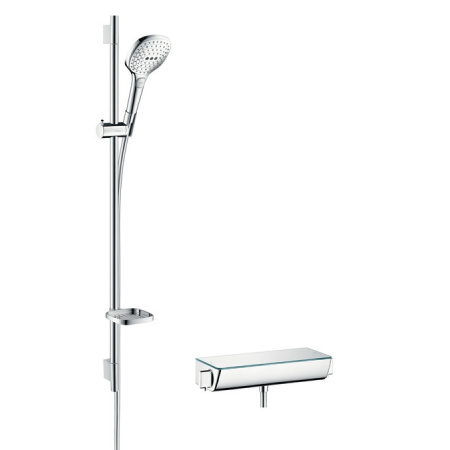 Hansgrohe Ecostat Select E 120 Combi Zestaw prysznicowy 90 cm, biały/chrom 27039400