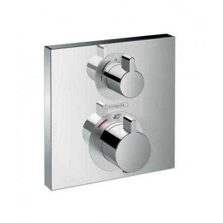 Hansgrohe Ecostat Square Bateria wannowo-prysznicowa podtynkowa z termostatem chrom 15712000