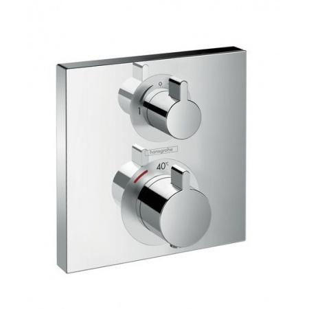 Hansgrohe Ecostat Square Bateria wannowo-prysznicowa podtynkowa z termostatem chrom 15714000