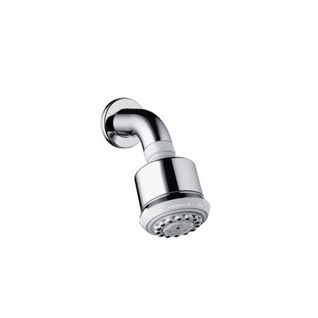 Hansgrohe Clubmaster Głowica prysznicowa z ramieniem prysznicowym 8,5x8,5 cm, chrom 27475000