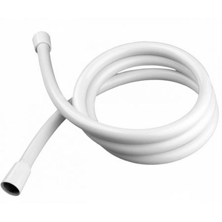 Hansgrohe Isiflex Wąż prysznicowy 125 cm z powierzchnią metaliczną biały 28272450