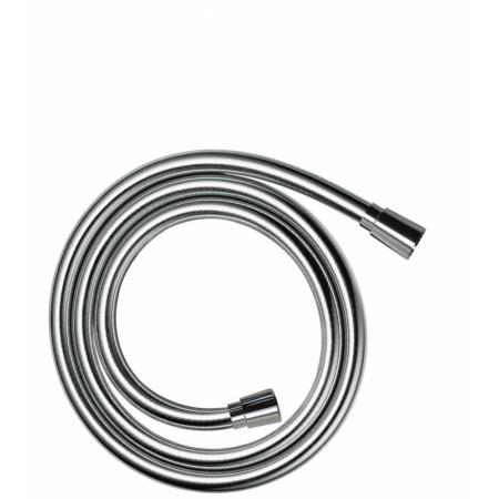 Hansgrohe Isiflex Wąż prysznicowy 125 cm z imitacją powierzchni metalicznej chrom 28272000