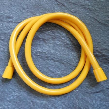 Hansgrohe Isiflex Wąż prysznicowy z powierzchnią metaliczną 160 cm, żółty 28276480
