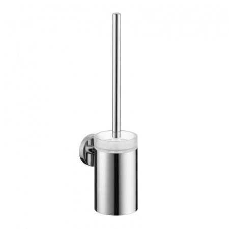 Hansgrohe Akcesoria Szczotka do WC z pojemnikiem 12x39 cm, chrom 40522000