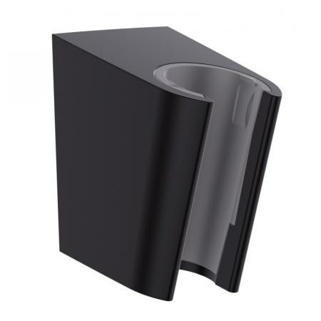 Hansgrohe Porter S Uchwyt słuchawki prysznicowej czarny mat 28331670