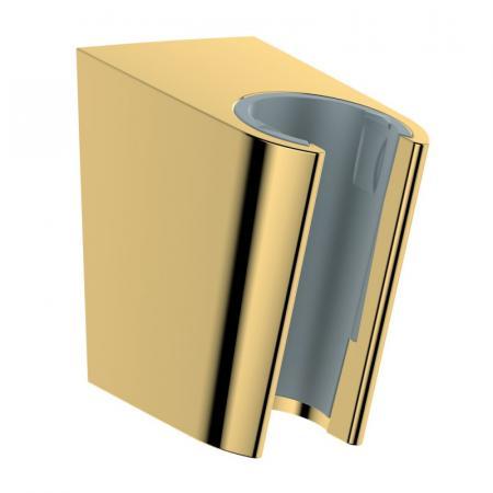 Hansgrohe Porter S Uchwyt słuchawki prysznicowej złoty optyczny polerowany 28331990