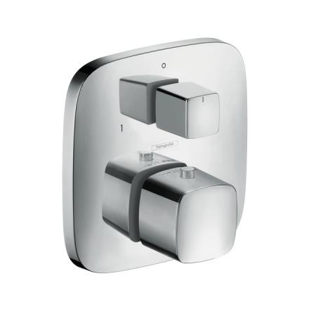 Hansgrohe PuraVida Bateria wannowo-prysznicowa podtynkowa z termostatem, chrom 15771000
