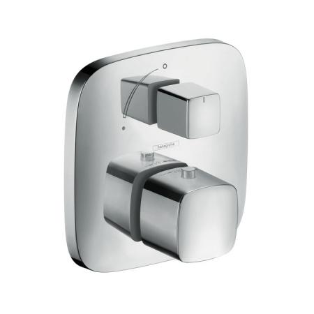 Hansgrohe PuraVida Bateria wannowo-prysznicowa podtynkowa z termostatem chrom 15775000