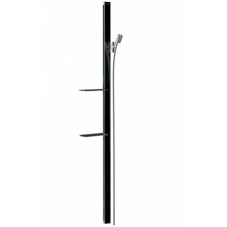 Hansgrohe Raindance E Unica'E Zestaw prysznicowy 150 cm chrom/czarny 27645600